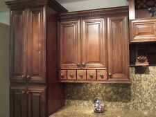 SOLID WOOD PREMIUM KITCHEN CABINETS CHOCOLATE MAPLE 10x10 layout