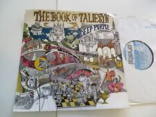 Deep PURPLE the book of taliesyn... Crystal modello/PROMO. UNPLAYED VINILE: MINT