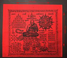 Pha yantra LP Pern Wat Bangpra thai amulet 18 Inches Talisman The best holy@1