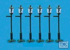 5004 Modelscene OO/HO Gauge Gas Lamp Posts Pack of 6