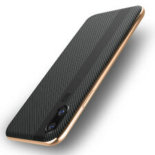 F iPhone X 6s 8 7 Iphone8 Plus Luxury Shockproof Slim Hard Protective Case Cover for iPhone 7 Gold/black