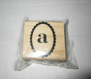Michael's Paisley Monogram Stamp Initial A -  New