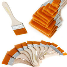 12Pcs/set Wooden Cleaning Brush Oil Brush Paint Brush Clean Up Dust Tools