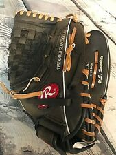 Rawlings The Gold Glove R7125B 12.5 Inch Basket-Web FlexLoop