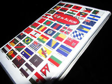 Premier 100 National Flags Theme World Coins Collection Album 120 Money Holders