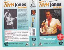 TOM JONES SPECIAL VIDEO VHS VIDEO PAL~ RARE FIND