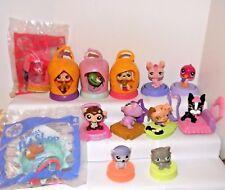 Littlest Pet Shop ~ McDonald Toys (3) 2006 (4) 2008 (6) 2009 ~ 13 Total (2 MIP)