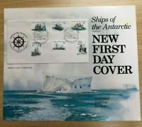 SP60a) 1981 Australia Post Poster First Day Cover Ships of Antarctic Series III