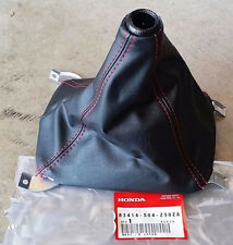 JDM Honda Shift Boot 96-00 HONDA CIVIC EK Type R Red Stitch Genuine Part OEM