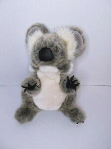 "Folkmanis Hand Puppet BABY KOALA 12"" Plush Furry Full Body Realistic Puppet"