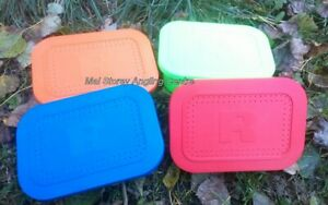 Ringers Bait Boxes / tubs 1 pint Blue / Orange / Green / Red -  x 3 Boxes