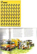 Renault Reading Parts Centre Opening circa 1976 Original UK Publicity Brochure