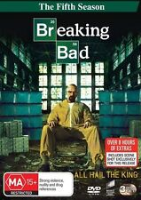 Breaking Bad : Season 5 (DVD, 2013, 3-Disc Set) Brand New Sealed