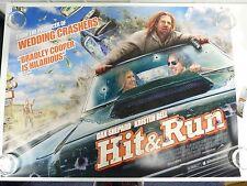 Hit & Run Comedy Bradley Cooper Original Film / Movie Poster Quad 76x102cm