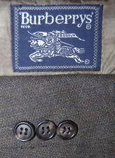 Mens Size  42 R Burberry Deep Sage Green Pin Dot Wool Sport Jacket