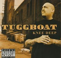 TUGGBOAT Knee Deep CD Chicano G-rap Gangsta G-funk Bakersfield Cali Mexican