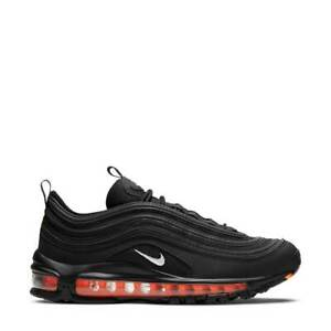 Air Max 97 GS - Black Total Orange New Authentic Trainers Sneakers DD3238-001