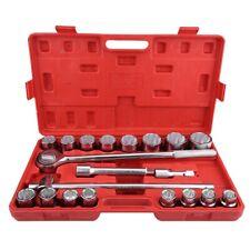 "21pcs 3/4"" Standard Drive Socket Spanner Set Car Truck Repair Tools Sockets Usa"