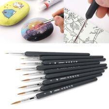 9Pcs art brush painting set acrylic paint oil painting watercolor paint brZY