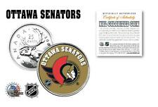 OTTAWA SENATORS NHL Legal Tender Canada Quarter Coin