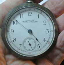 Watch Not Running Serial 3249797 Model 1883 American Waltham Pocket