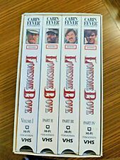 Lonesome Dove VHS New Sealed In Box  Western ( 4 VHS Tapes )