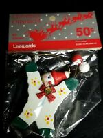 Vintage LeeWards Christmas Clown Ornament New Original Unopened ~ Head Is Broken