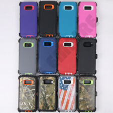For Samsung Galaxy S8/S9/S10/Note 8/9/10 Plus Case(Clip Fits OtterBox Defender)