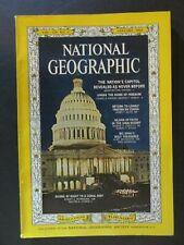National Geographic Magazine January 1964 US Capital, Tristan