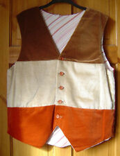 Formal Striped Cotton Waistcoats for Men