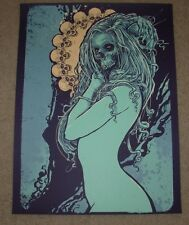 GODMACHINE art poster print NURTURE DEATH silkscreen