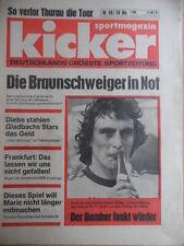 KICKER 59- 21.7. 1977 ** Dieter Müller Spieler-ABC Bernd Cullmann Tour de France