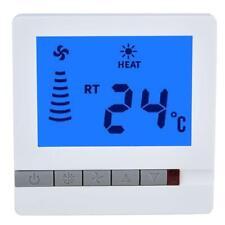 Digital Heating Thermostat Fan Floor Temperature Controller LCD Display
