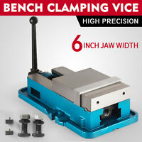 6'' Precision Milling Drilling Machine lock Down Vise Lock Clamp Plier CNC