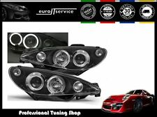 FARI ANTERIORI HEADLIGHTS LPPE02 PEUGEOT 206 1998 1999 2000 2001 2002 ANGEL EYES