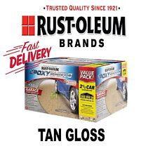 Rustoleum Rust-Oleum EPOXYShield Garage Floor Coating Kit 2 1/2 Car - Tan Gloss