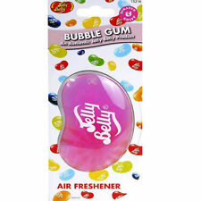 3D Jelly Belly Bean Car Air Freshner Bubblegum Scent Flavour Smell