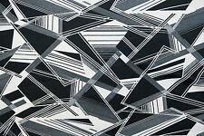 Geometric Ponte Print #10 Double Knit Fabric Stretch Poly Lycra Spandex BTY