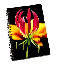 Floral A5 Spiral Inner Pages Floral Notebook Filler Paper Weekly Monthly Planner
