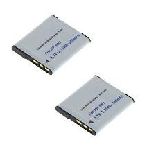 2 Akkus für Sony Cyber-shot DSC-WX100