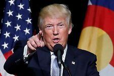 """Donald trump presedent usa 2016 A4 brillant qualité photo reprint 11.25"""" x 8.25"""""""