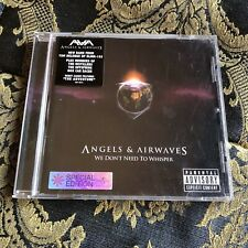 AVA Angels & Airwaves cd WE DON'T NEED TO WHISPER special edition BLINK 182