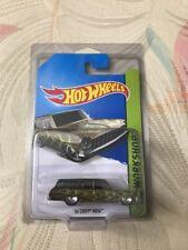 2014 Hot Wheels 64 Chevy Nova Station Wagon Super Treasure Hunt W/Protecto!