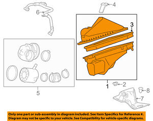 Cadillac GM OEM 13-16 ATS 2.0L-L4 Air Cleaner Intake-Filter Box Housing 22781108