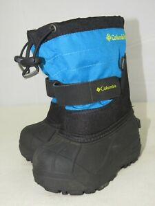 COLUMBIA Waterproof Winter Snow Boots Toddler Boys Removable Lining  Size 7