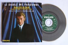 Johnny HALLYDAY (CD single 4 TITRES) LE DIABLE ME PARDONNE  - COMME NEUF