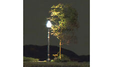 3 Lamp Post Street Lights Ho-Scale-Just Plug System (#5633) By Woodland Scenics