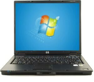 "HP Laptop 250GB HDD Intel Dual Core WIN 7 WIFI 2GB RAM 15"" Compaq nc6320"