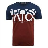Crosshatch New Mens T-Shirt Liptons 2019 Summer