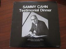 SAMMY CAHN  1968 Testimonial dinner lp Jack Benny Warren Beatty Johnny Carson